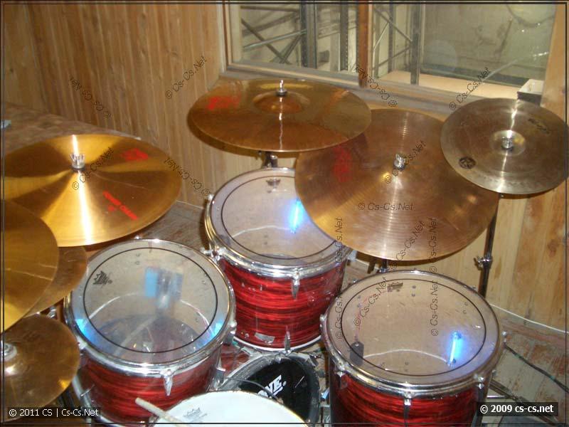 Моя барабаннная установка в 2008 году