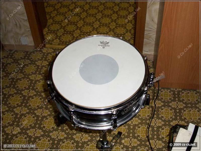 Готовый барабан на стойке
