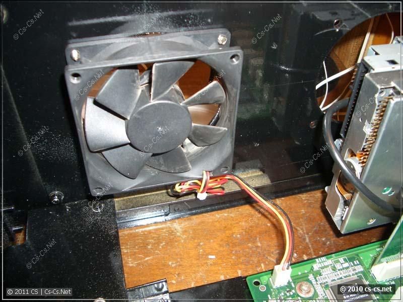 Без вентиляторов не обходится