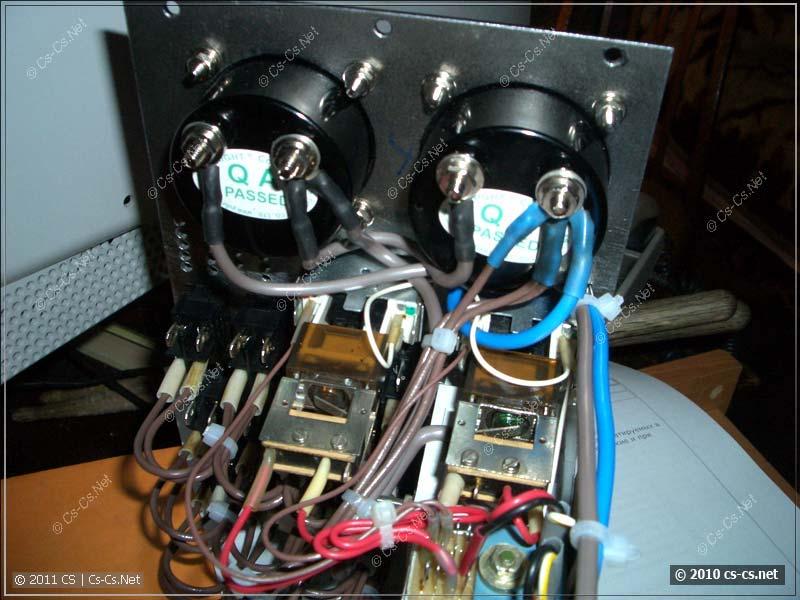 Монтаж приборов контроля напряжения и тока
