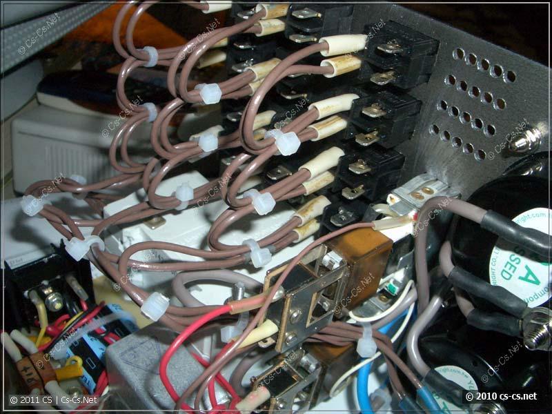 Монтаж распределительных выключателей