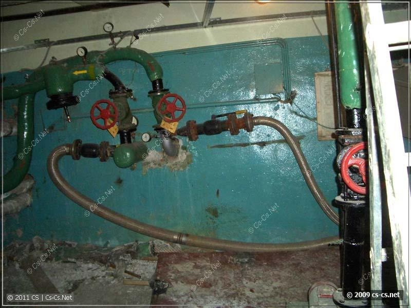 Задвижки и промышленный вариант гибкой подводки
