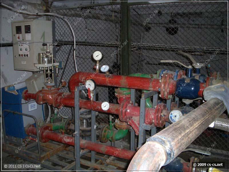 Система регулирования подачи тепла