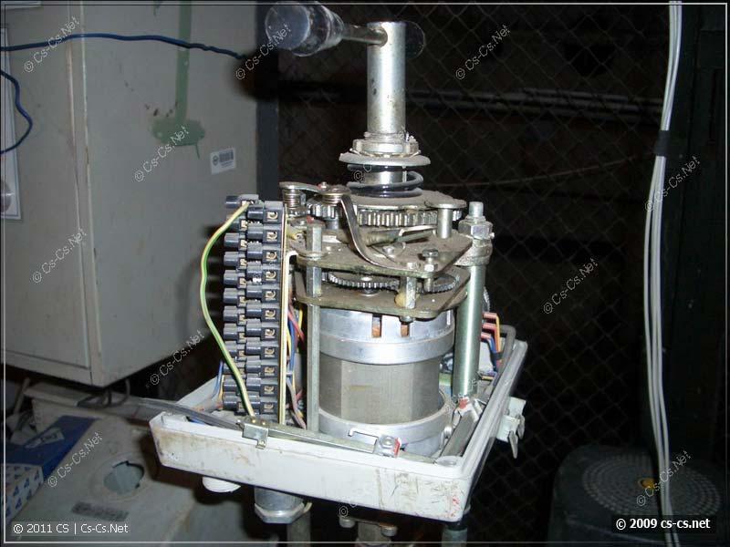 Регулятор тепла (на шаговом двигаетеле)