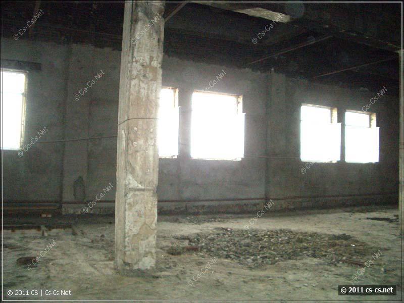 А также заброшенные этажи