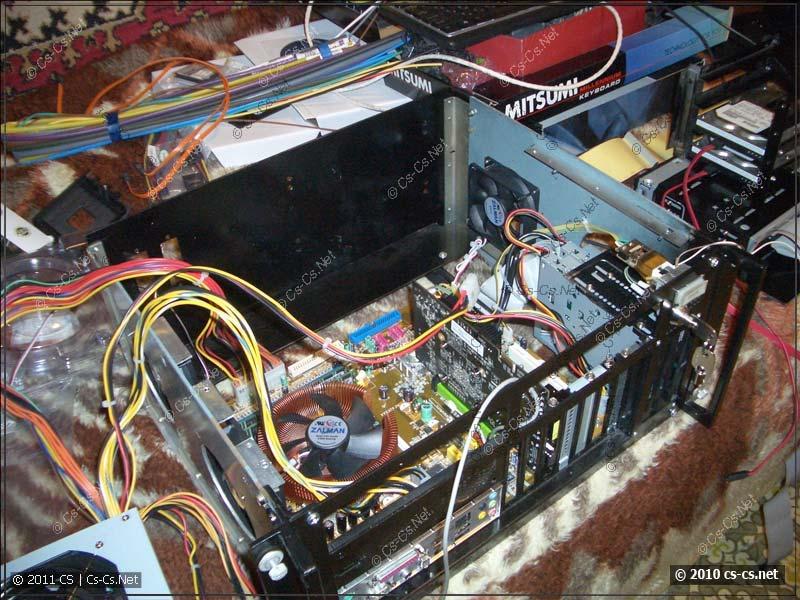 Корпус высох, собираем второй компьютер