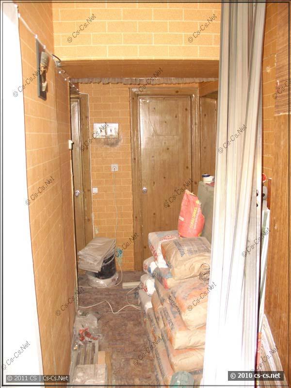 Квартира превратилась в ремонтный полигон