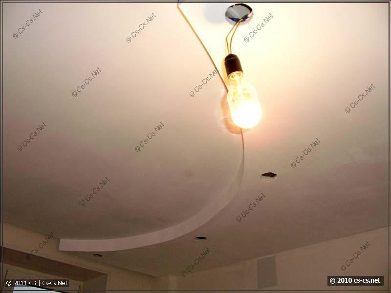 Готовый полукруглый гипсокартоновый потолок