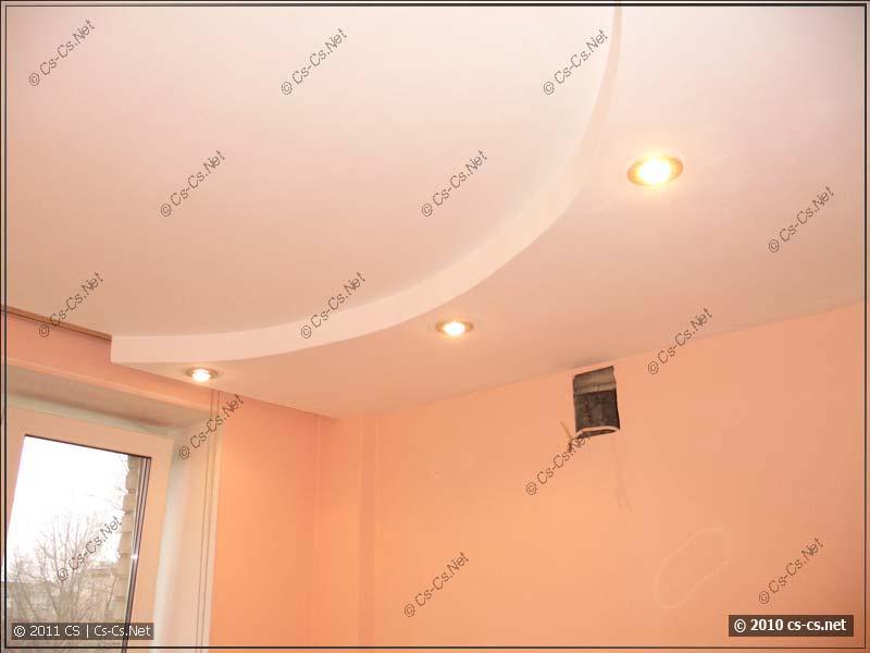 Финишная отделка потолка после ремонта