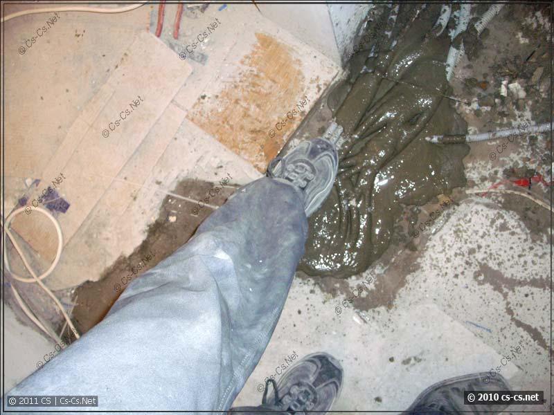 Торжественный отпечаток ботинка Афтара