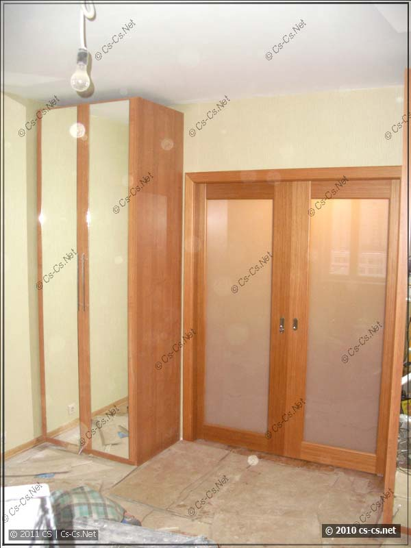 Спальня - вид одного из шкафов