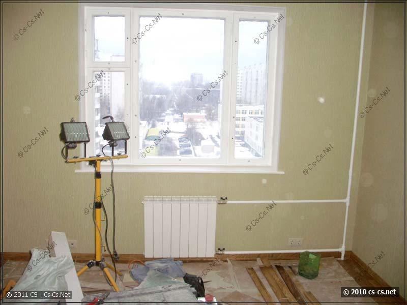 Прожектора для освещения рабочих мест ремонта