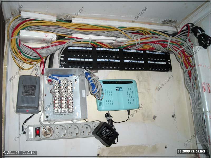Новые линии Ethernet и телефонии
