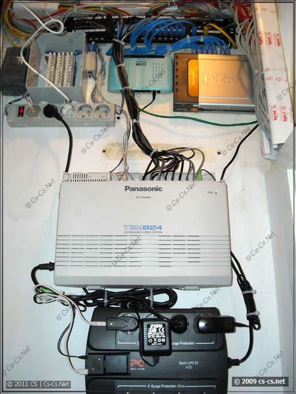 Телефонная станция (АТС) и участок телефонии