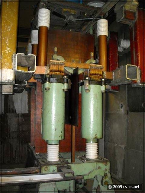 Ваккумный выключатель генератора