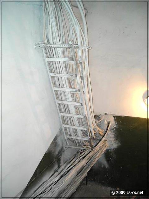 Разное кабло в РУ-10кВ