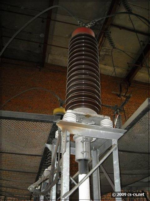 Изоляторы и кабельные вводы 110кВ