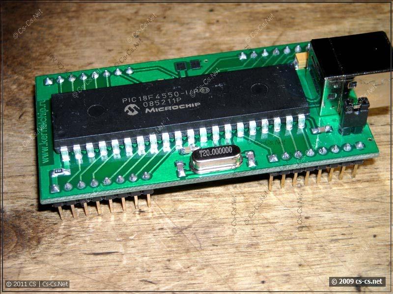 Модуль Ke-USB24A, вид сверху