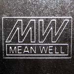 Логотип Mean Well На корпусе блока питания
