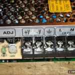 Клеммная колодка для подключения проводов