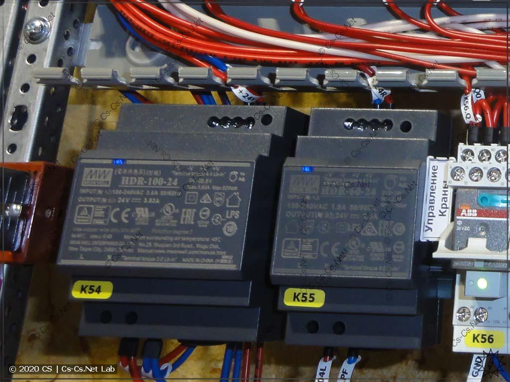 Блоки питания Mean Well серии HDR (на 100 и 60 Вт)
