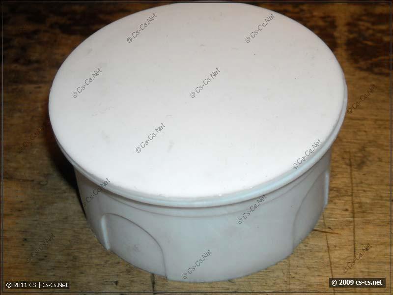 Дешёвая распаечная коробка из пластика