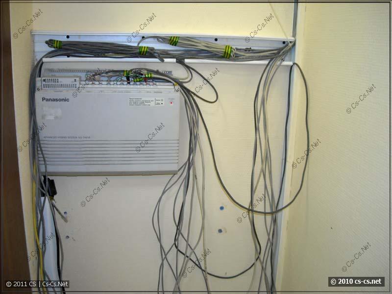 Собираем телефонные линии в АТС и кабели в короб