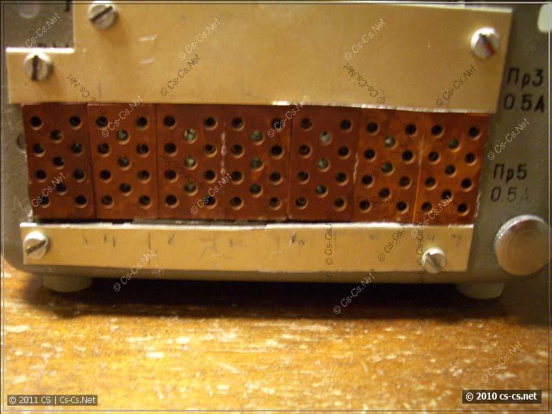 Разъёмы для подключения электрозапалов