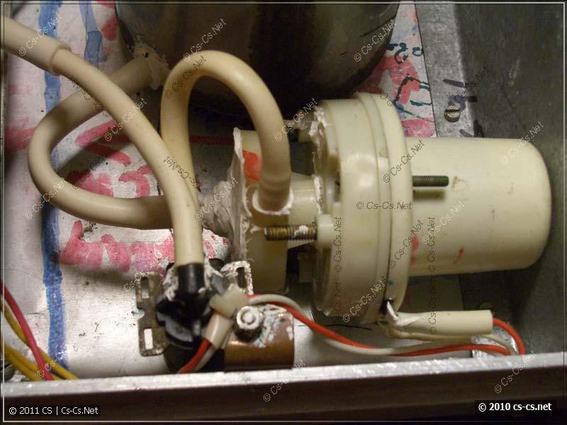 Гидравлическая схема дымовой установки