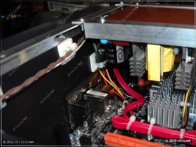 SATA-флэш накопитель Transcend на 2Gb в качестве системного диска