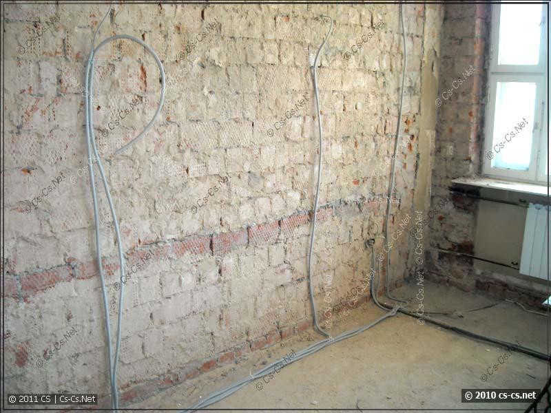 Лёгкий случай: на стенах будет большой слой штукатурки