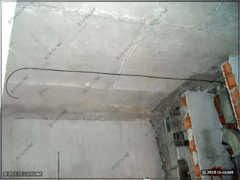Использование кабеля ВВГ для прокладки освещения (без гофры)