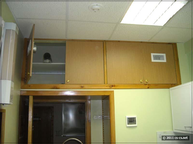 Вентиляция через стенной шкаф