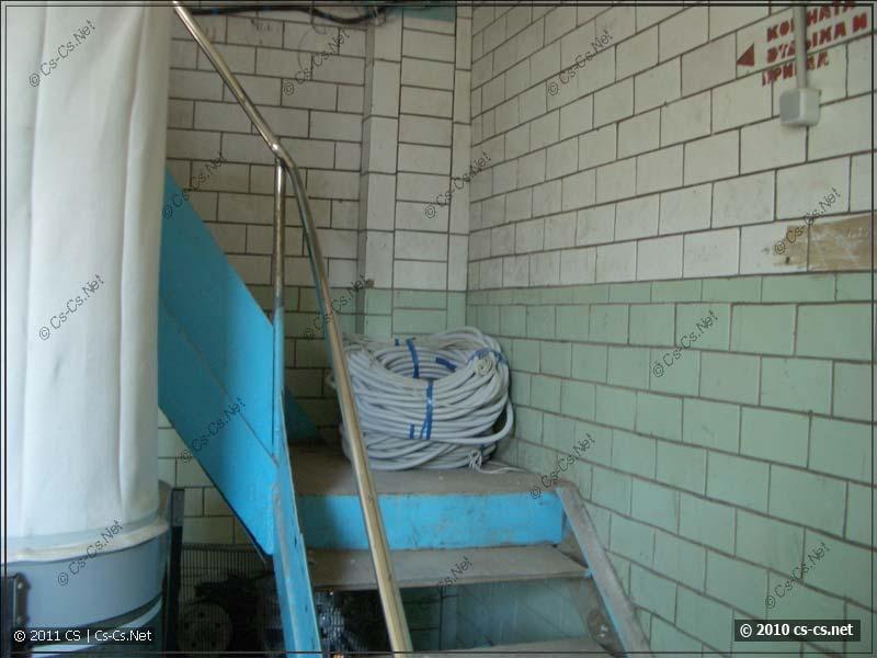 Лестница на верхний этаж, которой скоро не станет
