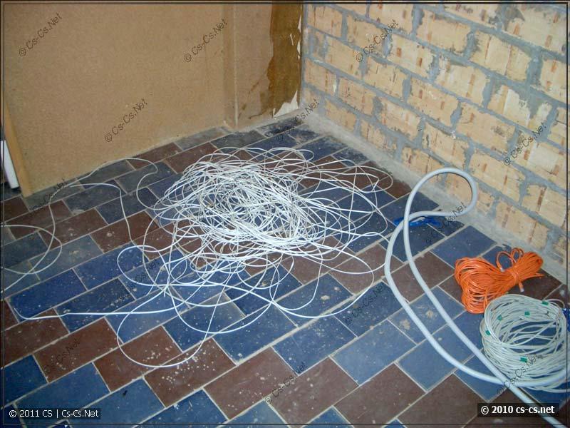 Груды кабелей - переоборудуем серверную