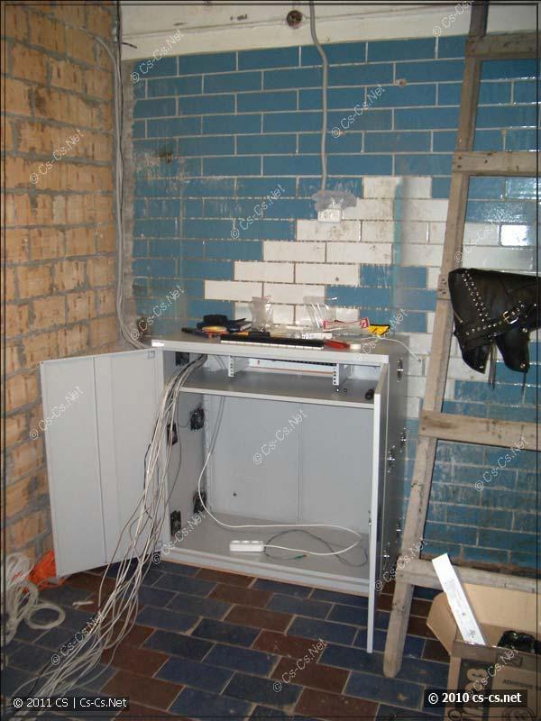 Новая серверная на месте старого офиса