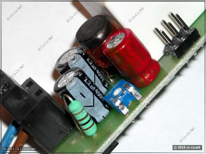Конденсаторы CapXon по питанию электроники