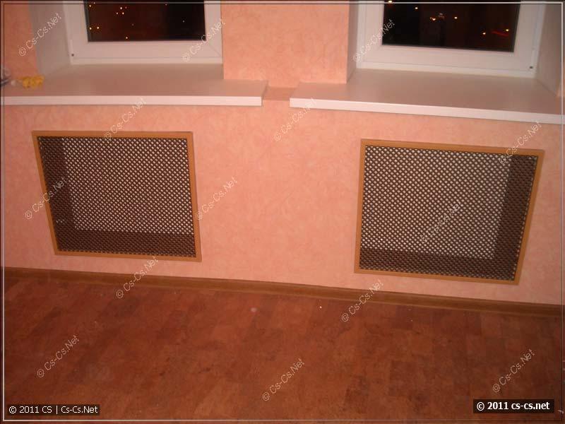 Очень понравились решётки для радиаторов отопления