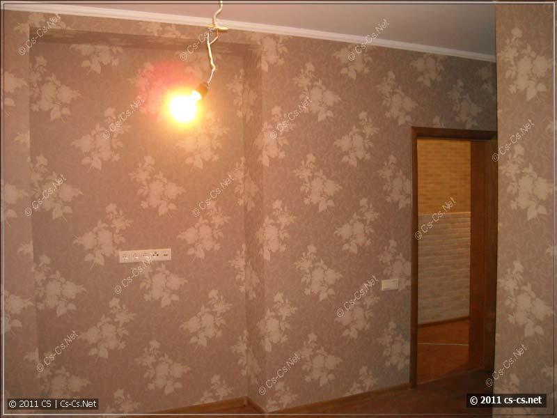 Ещё одна комната, - на месте трэша - выключатели