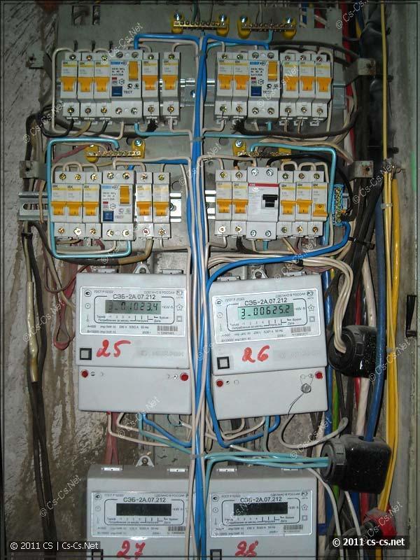 Сколько оставлять кабеля для ввода в щит