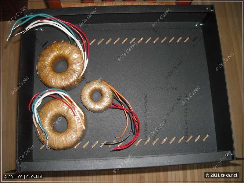 Торроидальные трансформаторы в корпусе