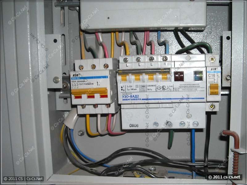 Подключение квартирного электрощита вводной питающий кабель, устанавливайте с медными токопроводящими жилами