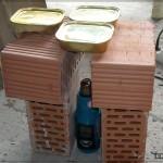 Разгореваем обед при помощи строительного фена
