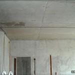 Линия освещения на потолке при помощи кабеля ВВГ