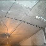 Линии освещения прихожей (два светильника)