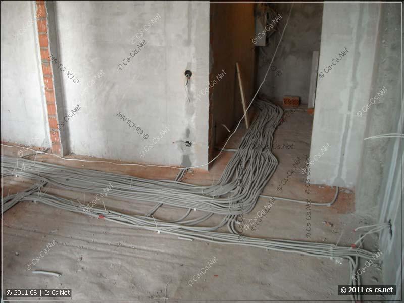 Мега-кабели: слаботочные линии в гардеробную