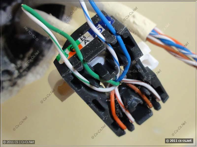 Установка компьютерной розетки своими руками 14