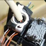 UTP розетка: Фиксируем модуль поворотом