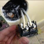 UTP розетка: Оба кабеля распатчены