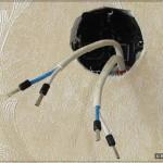 Аудио розетка: Концы опрессованы наконечниками